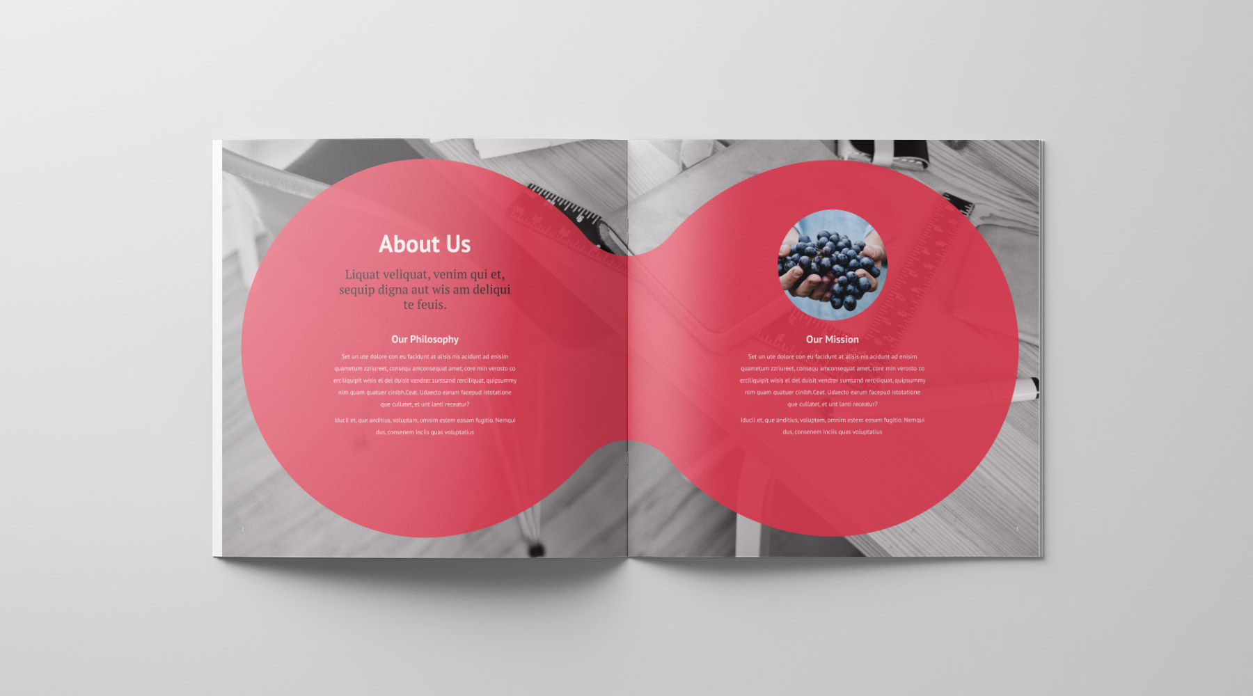 El Brochure Template | Brochure Template Petovdesign Industrial And Graphic Design By
